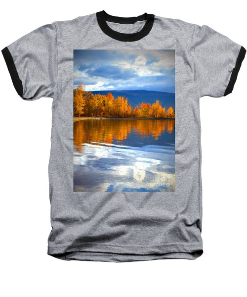 Autumn Reflections At Sunoka Baseball T-Shirt