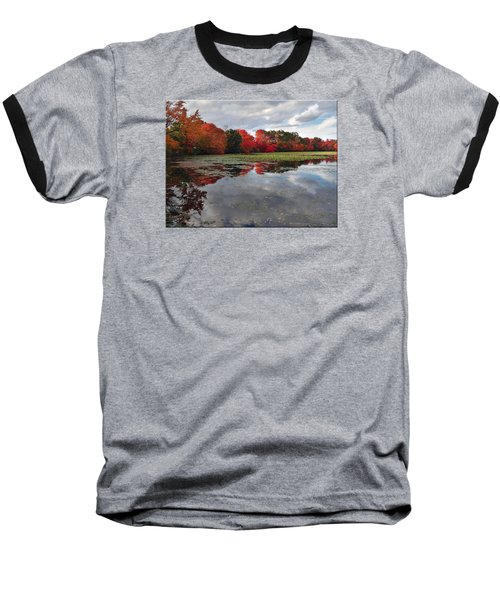 Autumn Reflections Baseball T-Shirt