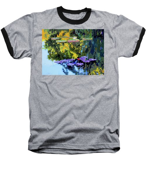 Autumn Reflections On The Pond Baseball T-Shirt