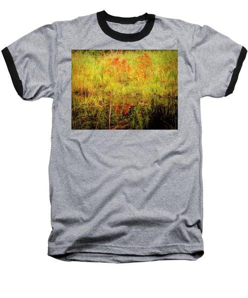 Autumn Reflections Baseball T-Shirt