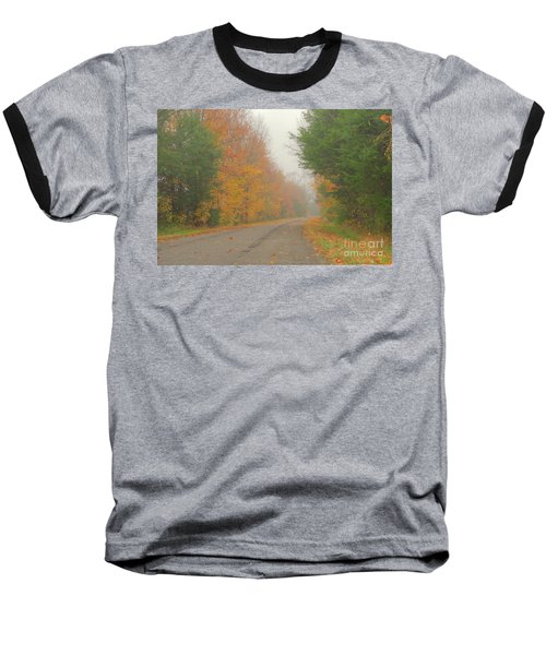 Autumn Roads Baseball T-Shirt