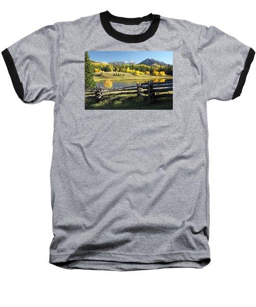 Autumn Serenade Baseball T-Shirt by Eric Glaser