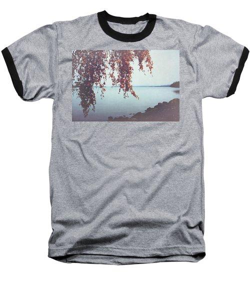 Baseball T-Shirt featuring the photograph Autumn Shore by Ari Salmela