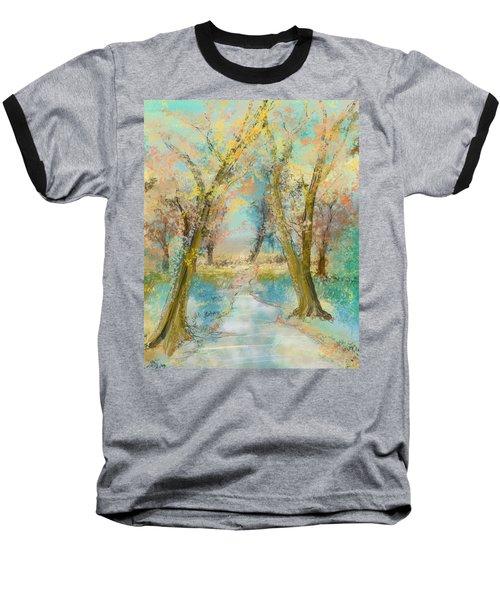 Autumn Sketch Baseball T-Shirt