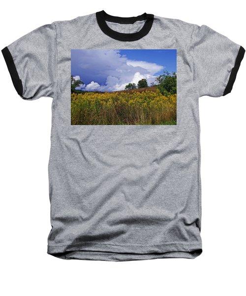 Autumn Skies Baseball T-Shirt