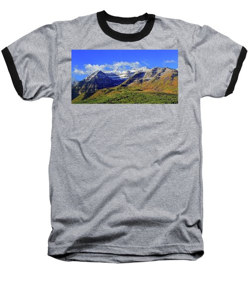 Autumn Snow On Timp Baseball T-Shirt