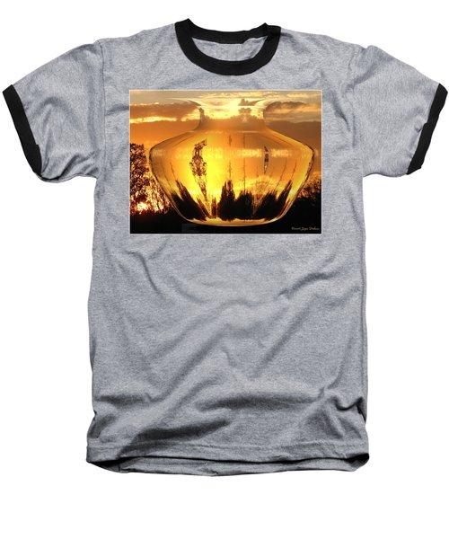 Baseball T-Shirt featuring the photograph Autumn Spirits by Joyce Dickens