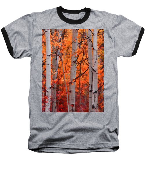 Autumn Splendor Baseball T-Shirt