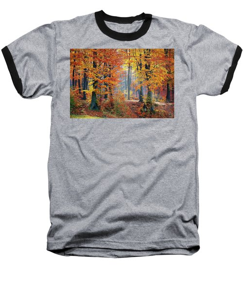 Autumn Splendour Baseball T-Shirt