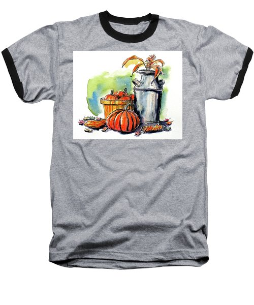 Autumn Still Life 2 Baseball T-Shirt