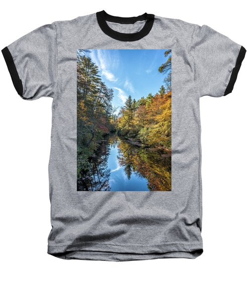 Autumn Stream Baseball T-Shirt