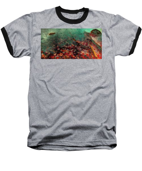 Baseball T-Shirt featuring the photograph Autumn Submerged by David Patterson