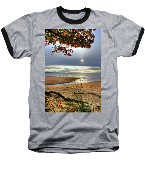 Autumn Sunrise On The James Baseball T-Shirt