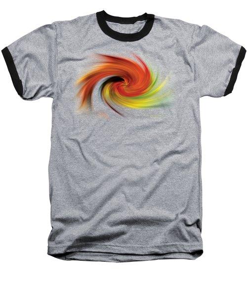 Autumn Swirl Baseball T-Shirt