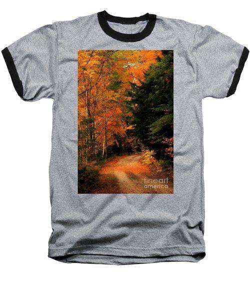 Autumn Trail Baseball T-Shirt