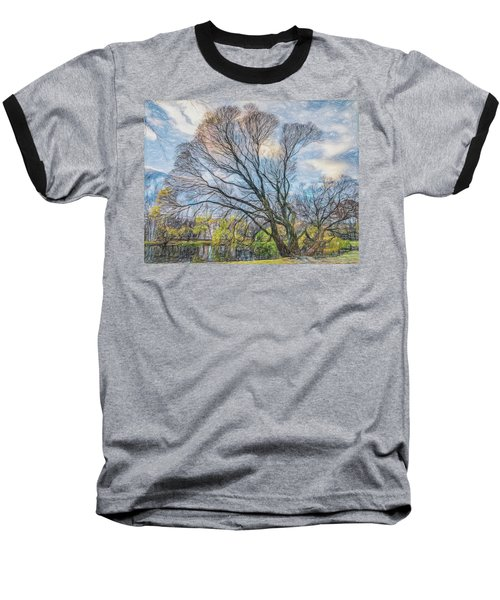 Baseball T-Shirt featuring the photograph Autumn Tree by Vladimir Kholostykh