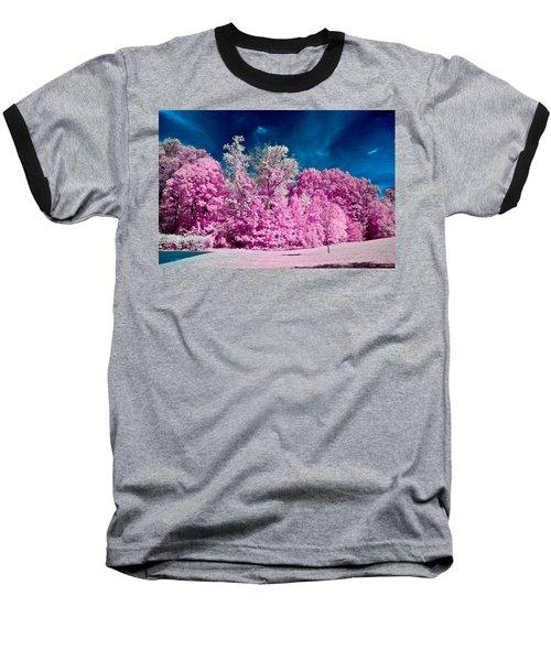 Autumn Trees In Infrared Baseball T-Shirt