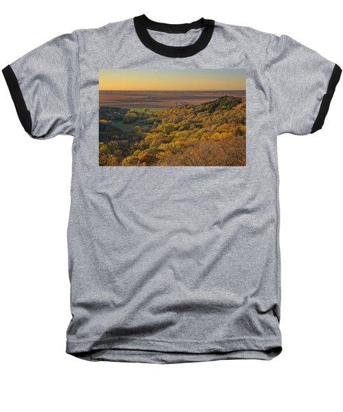 Autumn View At Waubonsie State Park Baseball T-Shirt