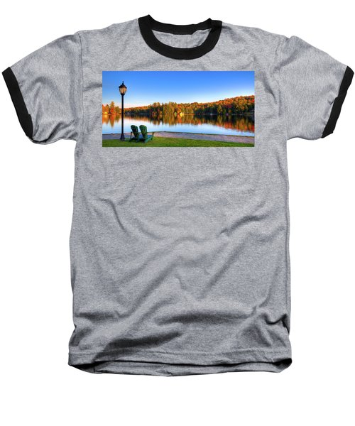 Autumn View For Two Baseball T-Shirt