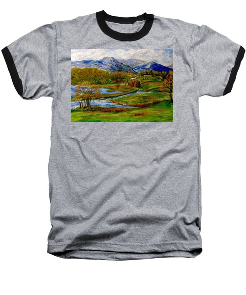Autumn View Of The Trossachs Baseball T-Shirt