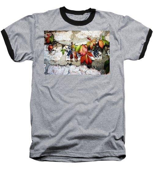 Autumn Vines Baseball T-Shirt