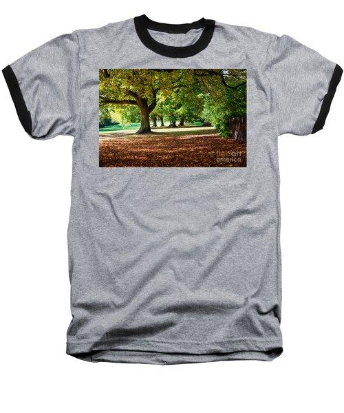 Autumn Walk In The Park Baseball T-Shirt