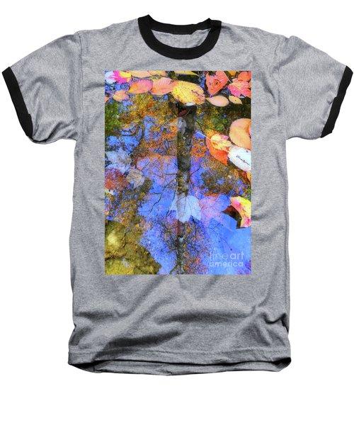 Autumn Watermark Baseball T-Shirt