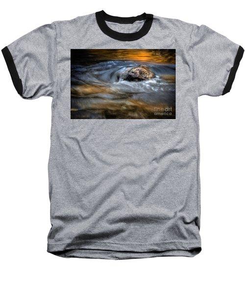 Autumn Waters Baseball T-Shirt