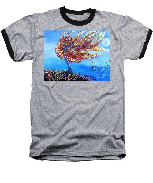 Autumn Whisper Baseball T-Shirt
