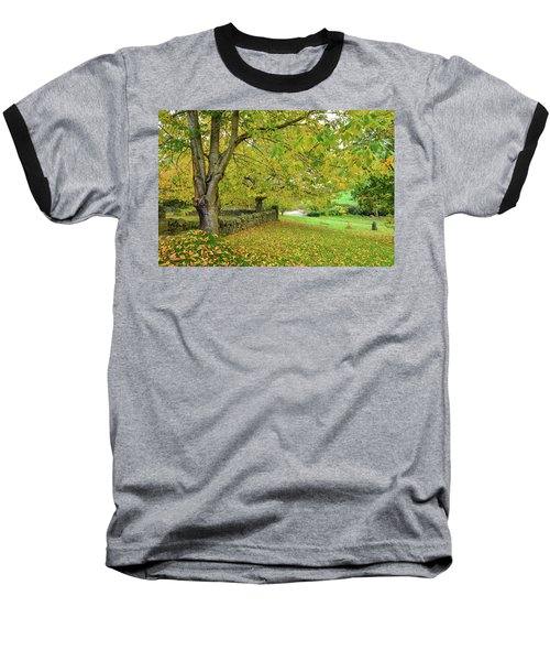 Autumn Wonderland Baseball T-Shirt