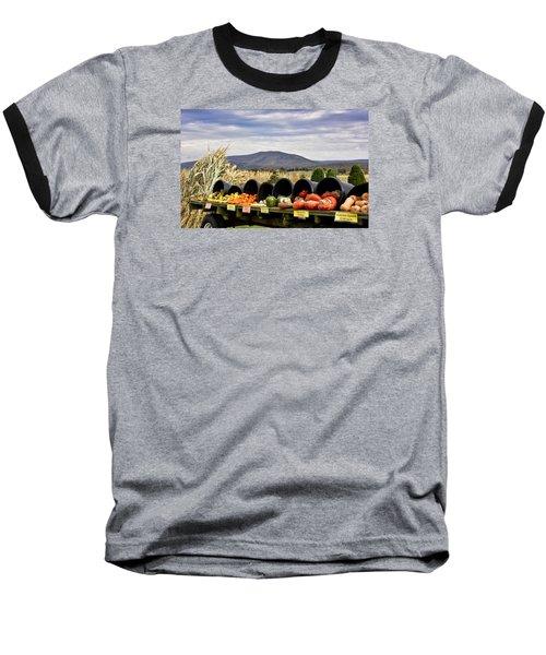 Autumnal Abundance In The Blue Ridge Mountains - Virginia Baseball T-Shirt by Brendan Reals