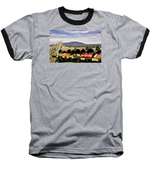 Autumnal Abundance In The Blue Ridge Mountains - Virginia Baseball T-Shirt