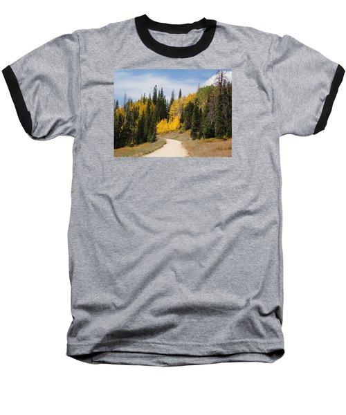 Autumnal Forest-dixie National Forest Utah Baseball T-Shirt by Deborah Moen