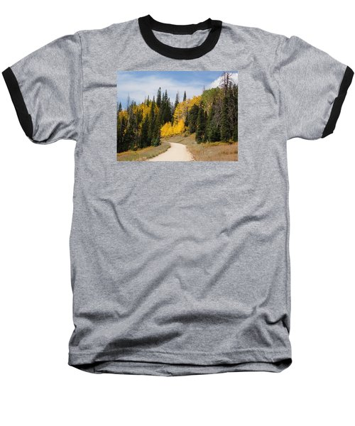 Autumnal Forest-dixie National Forest Utah Baseball T-Shirt