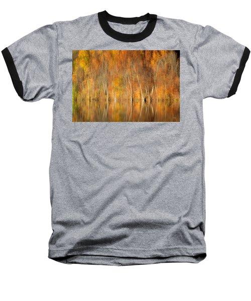 Baseball T-Shirt featuring the photograph Autumns Final Palette by Everet Regal