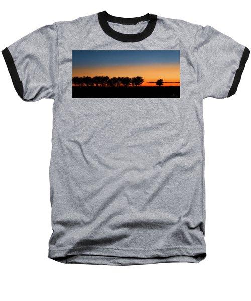 Autumn's Golden Glow Baseball T-Shirt