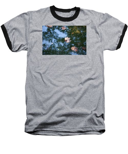 Autumn's Here Baseball T-Shirt by Allen Carroll