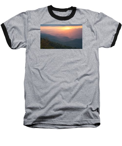 Autumn's Promise Baseball T-Shirt by Doug McPherson