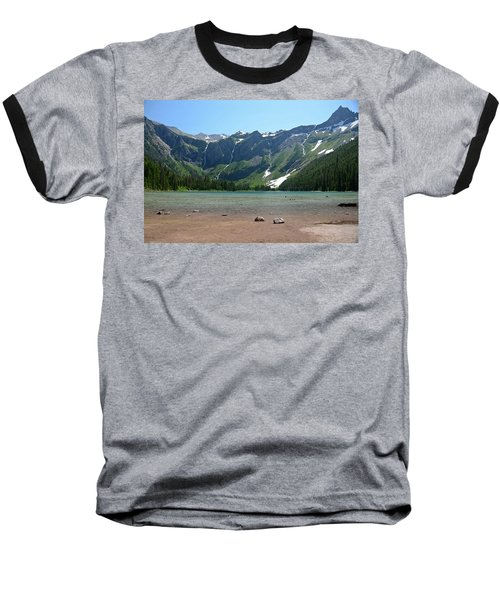 Avalanche Lake Baseball T-Shirt