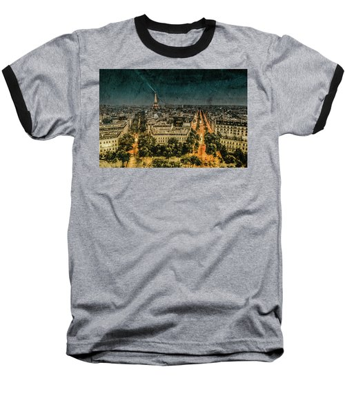 Paris, France - Avenue Kleber Baseball T-Shirt