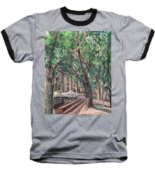 Avignon Baseball T-Shirt by Robin Miller-Bookhout