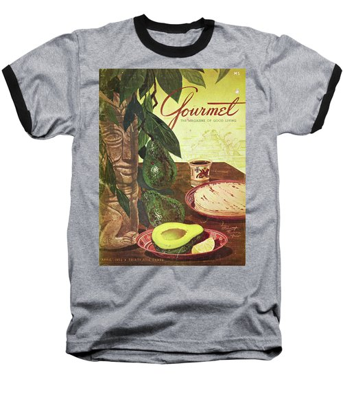 Avocado And Tortillas Baseball T-Shirt