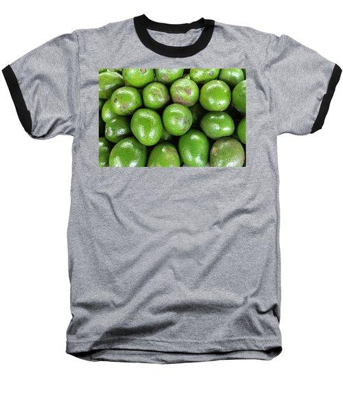 Avocados 243 Baseball T-Shirt by Michael Fryd