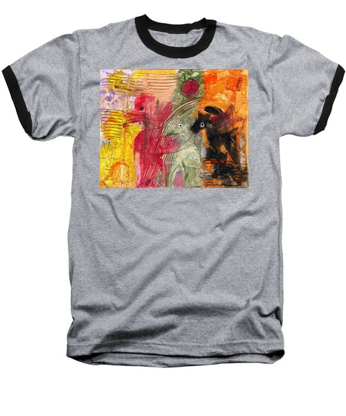 Avoiding The Apocalypse Baseball T-Shirt