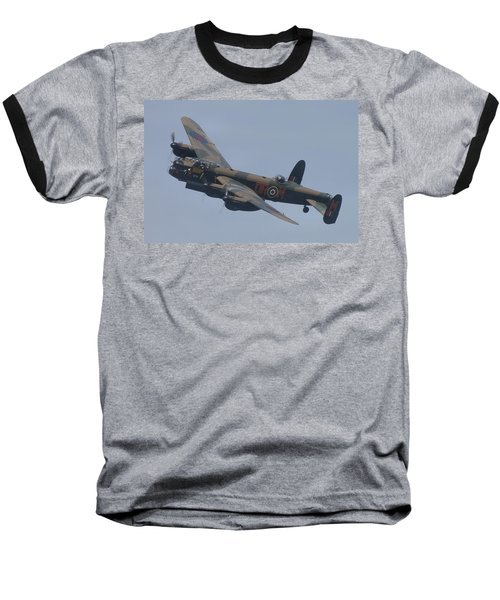 Avro Lancaster B1 Pa474  Baseball T-Shirt by Tim Beach
