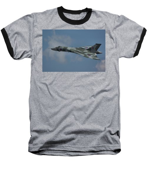 Avro Vulcan B2 Xh558 Baseball T-Shirt by Tim Beach