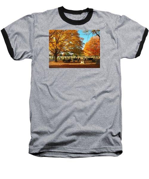 Awaiting Winter's Chill Baseball T-Shirt