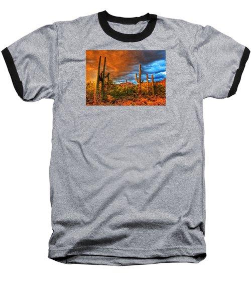 Awaitng The Monsoon Baseball T-Shirt