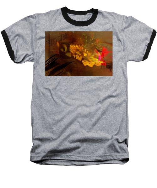 Awake Background Baseball T-Shirt