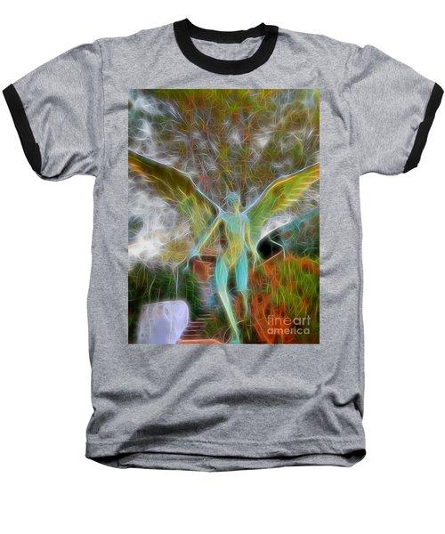 Awaken Baseball T-Shirt by Gina Savage